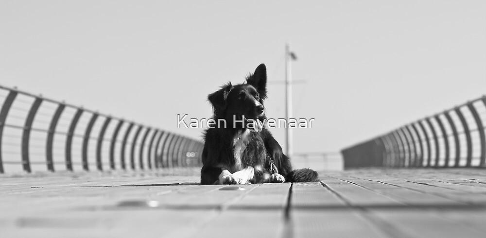 On the Pier by Karen Havenaar