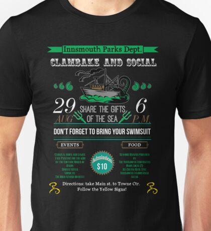 Cthulhu Tee - Innsmouth Clambake and Social Unisex T-Shirt