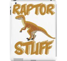 Raptor Stuff iPad Case/Skin