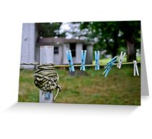 tightly wound. Greeting Card