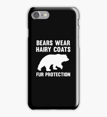 Fur Protection iPhone Case/Skin
