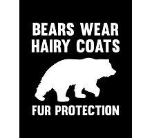 Fur Protection Photographic Print