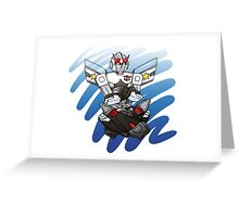 Prowl is a grump Greeting Card
