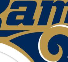 St. Louis Rams logo 4 Sticker