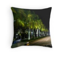 Miami Drive By Shooting Throw Pillow