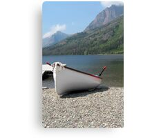 Resting on the Shore. Canvas Print