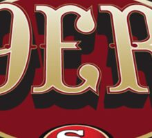 San Francisco 49ers logo 3 Sticker