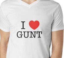I <3 GUNT Mens V-Neck T-Shirt