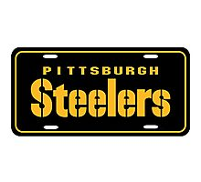 Pittsburgh Steelers logo 3 Photographic Print