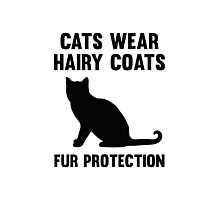 Fur Protection Photographic Print