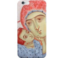 the Virgin of Tenderness and the Child Jesus iPhone Case/Skin