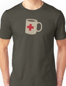Coffee First Aid Unisex T-Shirt