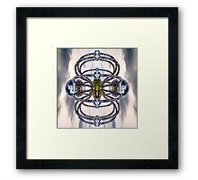 Render Reflected Framed Print