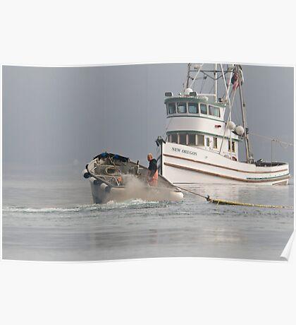 New Oregon Fishing IV Poster