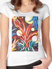 The Flame Women's Fitted Scoop T-Shirt