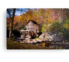 Autumn Morning in West Virginia Metal Print