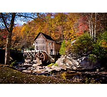 Autumn Morning in West Virginia Photographic Print