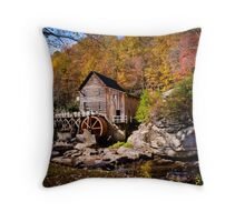 Autumn Morning in West Virginia Throw Pillow