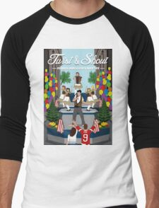 Ferris Bueller's Day Off Men's Baseball ¾ T-Shirt