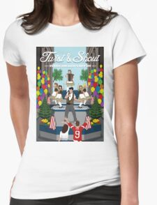 Ferris Bueller's Day Off Womens Fitted T-Shirt