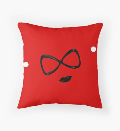 inspired by miss Quinn Throw Pillow