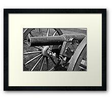 Civil War Cannon 2 Framed Print
