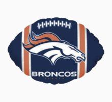 Denver Broncos logo 6 Kids Clothes