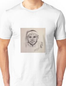 LEBRON JAMES PORTRAIT Unisex T-Shirt
