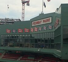Fenway Park from the Green Monster by frankusaurelius