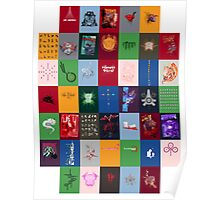 Wall of Tees Poster