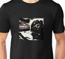 Rocks. Cross Symmetry. Abstract Photography. Unisex T-Shirt