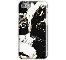 Rocks. Cross Symmetry. Abstract Photography. iPhone Case/Skin