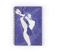 Galaxy Thoughts Spiral Notebook