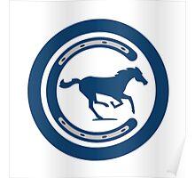 Indianapolis Colts logo 4 Poster
