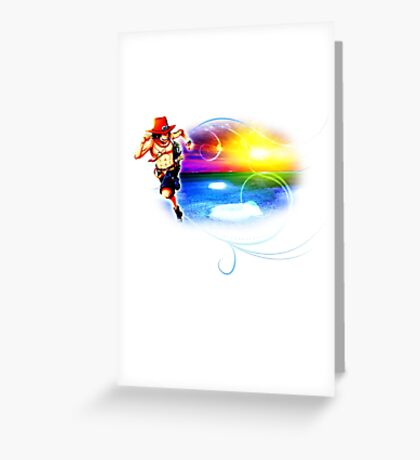 One Piece - Portgas D. Ace Greeting Card