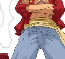 one piece straw hats luffy zoro sanji anime manga shirt Sticker