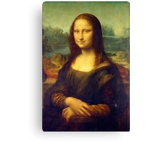 The Mona Lisa by Leonardo da Vinci Canvas Print