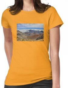 Haleakala Crater Womens Fitted T-Shirt
