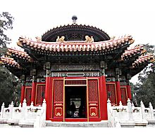 Forbidden City, Beijing, China Photographic Print
