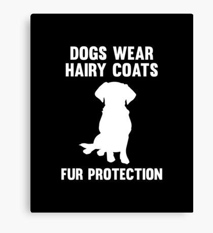 Fur Protection Canvas Print