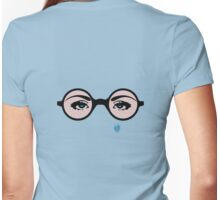 Girls Who Wear Glasses T Shirt Womens Fitted T-Shirt
