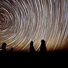 Pinnacles Star Trails by Paul Pichugin