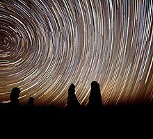 Pinnacles Star Trails by Paul Pichugin