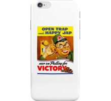 Keep Em Pulling For Victory - WW2 Propaganda iPhone Case/Skin