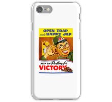 Keep Em Pulling For Victory - WW2 Propaganda iPhone Case/Skin