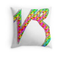 Capricorn Psychedelic Throw Pillow