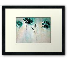 Rich greens Framed Print