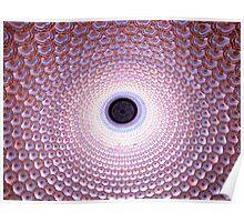 Illuminated Dome, Buddha Palace, Lingshan, Wuxi, Jiangsu, China Poster