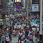 Times Sq by DamianBrandon