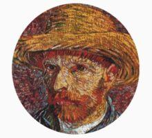 Van Gogh Self Portrait 1/5 by Hunter Bustamante